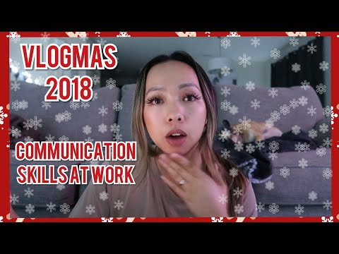 DAY 6: FriendlySisterlyAdvice on Hard Conversations at Work   VLOGMAS 2018