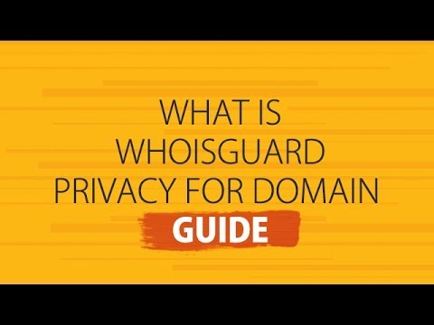 What is Whoisguard Privacy for Domain - Guide