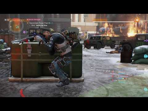 Tom Clancy's The Division ...the drunke character.hhhhhhhhhhh