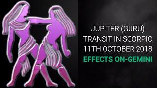 Jupiter Transit (Guru Gochar) in Scorpio 2018- 2019, Effects for