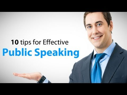 Tips for Public speaking  and Presentation skills