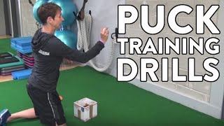 Puck Tracking Drills For Hockey Goalies