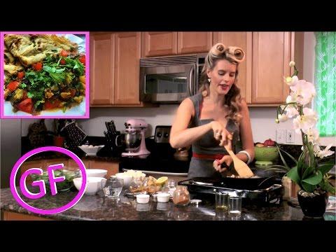 Saag Gobi & Coconut Dosa Gluten Free Vegan Recipe (Indian Food)
