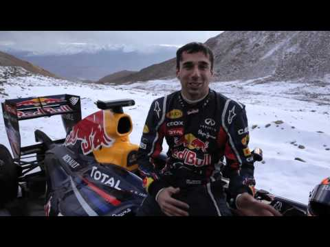 F1 - Red Bull Racing - Show Car Run at Khardung-La - Clip 2