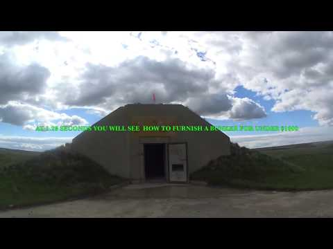 Check this Guy Out - Living Off Grid in a Concrete Bunker He Furnished for Less Than $1000