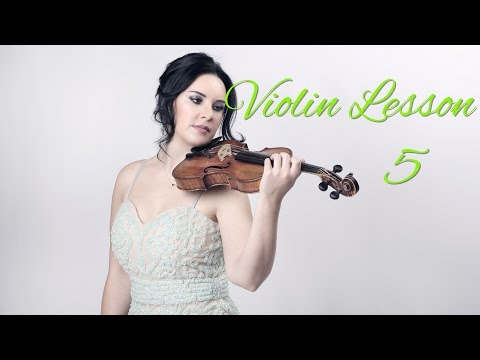 Learn the VIOLIN - Lesson 5/20 - Learning the open string notes