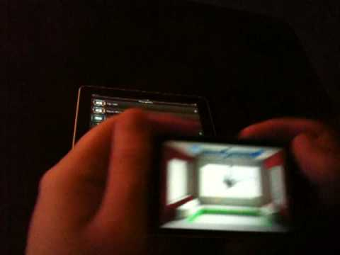 HoloToy hologram for iPad and iPhone update #3 preview - new game Scarab Attack and iPad demo