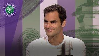 Roger Federer Wimbledon 2017 semi-final press conference
