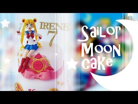 sailor moon cake 세일러문 케이크 만들기 セーラームーン ケーキ