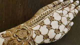 Wedding Special Mehndi Design For Hand 1