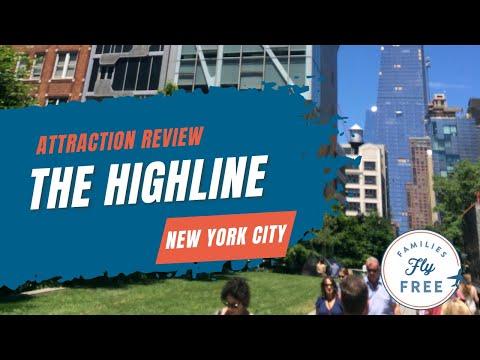 Walking New York City's High Line