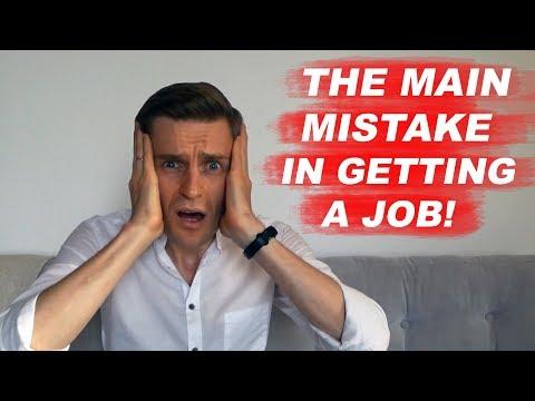 Job in Dubai and UAE: The biggest mistake in getting a job in Dubai!
