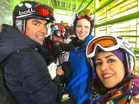 Real Iran: Skiing in Dizin Tehran + information