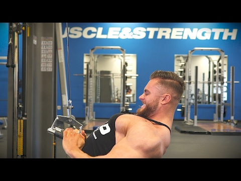 Top 3 Back Exercises To Build The Perfect V-Taper