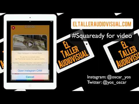 Videotutorial de Squaready for video