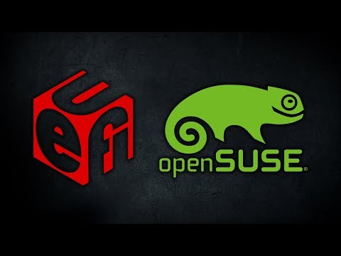 How to create a UEFI Bootable openSUSE 64-Bit USB using Rufus