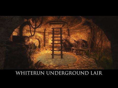 TES V - Skyrim Mods: Whiterun Underground Lair