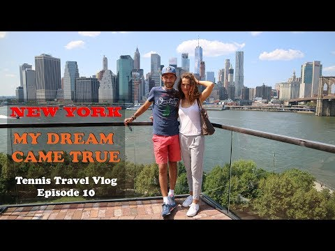 New York City - One of my dreams came true - Tennis Travel Vlog