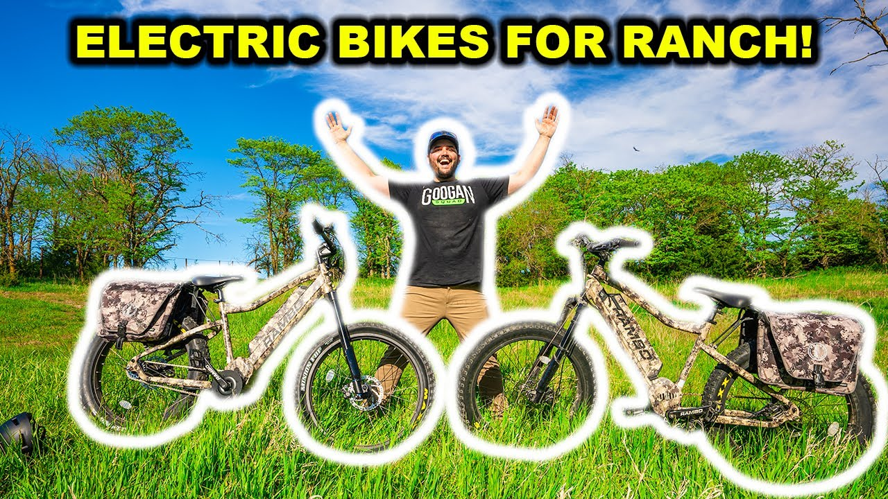 I Bought the WORLD'S Most EXPENSIVE Electric Bikes for my ABANDONED RANCH!!!