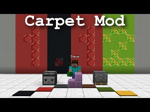 Powerful Toolbox with Ultimate Control - Carpet Mod update for Vanilla Minecraft 1.12