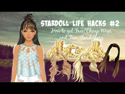 Stardoll Life Hacks #2 : How To Get Free/Cheap Wigs On Stardoll 2016