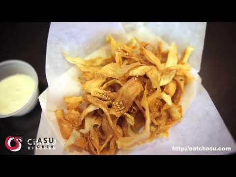 Gobo Chips at Chasu Kitchen