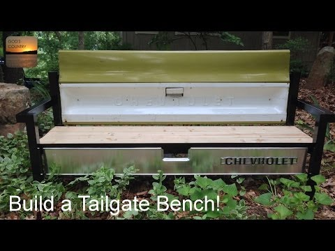 Build a Tailgate Bench!
