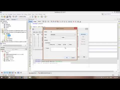 Java GUI Part #1 Insert Data into SQL Database with Netbeans