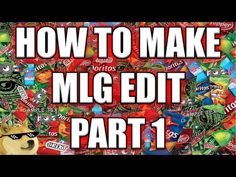 How To: Make MLG Edit in Vegas Pro 14, 13, 12 & 11 [Part 1]