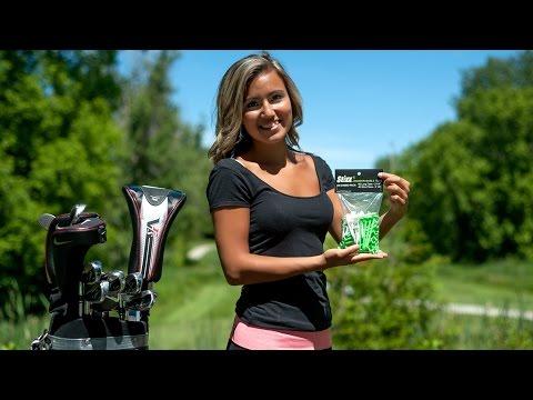 STIXX Biodegradable Golf Tees  100 Combo Pack- 3 1/4