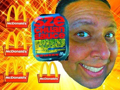 It's Back! McDonald's® Szechuan Sauce.