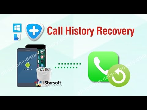 Call History Recovery - Recover Deleted Call Log iPhone & Android