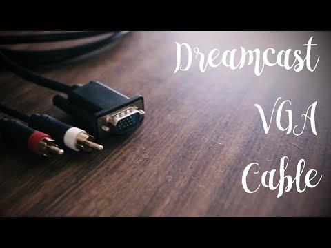 Sega Dreamcast VGA Cable - A quick review