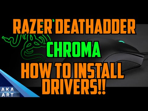 Razer Deathadder Chroma Driver Tutorial - How To, Help, Tips and Advice!!