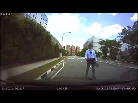 Avoiding Road Block Singapore