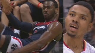 John Wall Drops 42, 19 In 4th, Chase Down Block In Clutch! Wizards Hawks Game 6