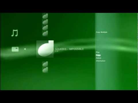 HOW TO PUT MUSIC ON YOUR PS3 (HD)