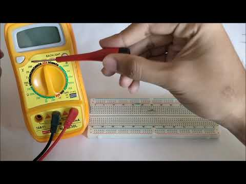 How to Measure Resistance with Multimeter