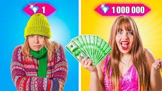Broke Girl Became Rich Girl for 24 Hours!