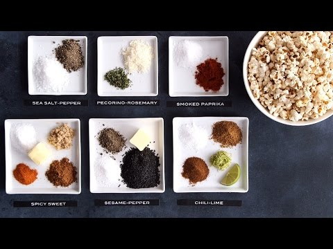6 Ways to Flavor Your Popcorn
