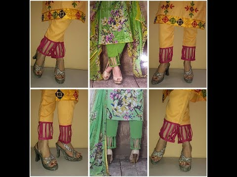 Pant stitching tutorial in Hindi with bottom design
