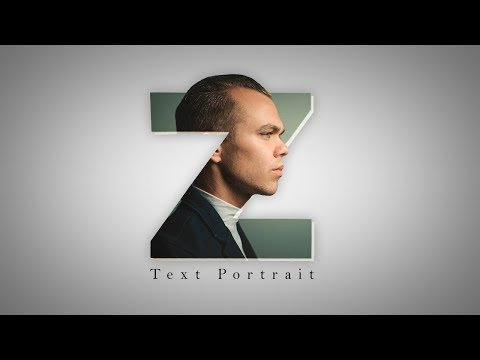 Letter Portrait Text Effect - Picsart Logo Designing Editing Tutorial