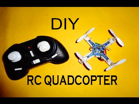 How to make a Mini RC Quadcopter at home Simple DIY Tutorial