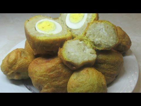 Cassava Egg Ball, step by step Video Recipe II Real Nice Guyana (HD)
