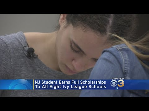 NJ Student Earns Full Scholarships To All Eight Ivy League Schools