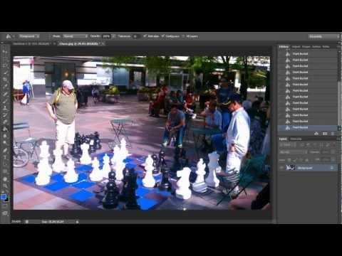 Paint Bucket Tool (HD) Photoshop Tools Tutorial