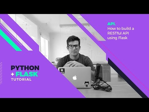 Free Flask Tutorial - Extras: How to build a simple RESTful API