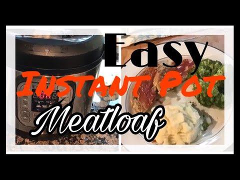 EASY Instant Pot Meatloaf | Instant Pot Review