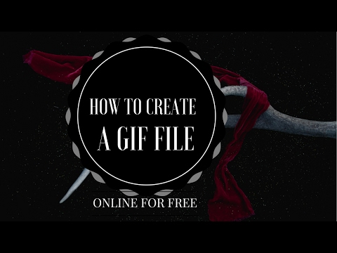 How to create a GIF file online for  free within a minute