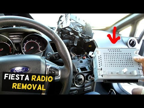 FORD FIESTA RADIO REPLACEMENT REMOVAL MK7 ST